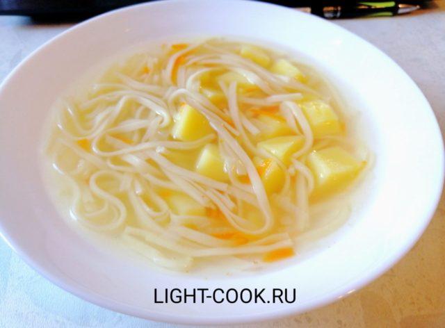 Как приготовить куриный суп с лапшой