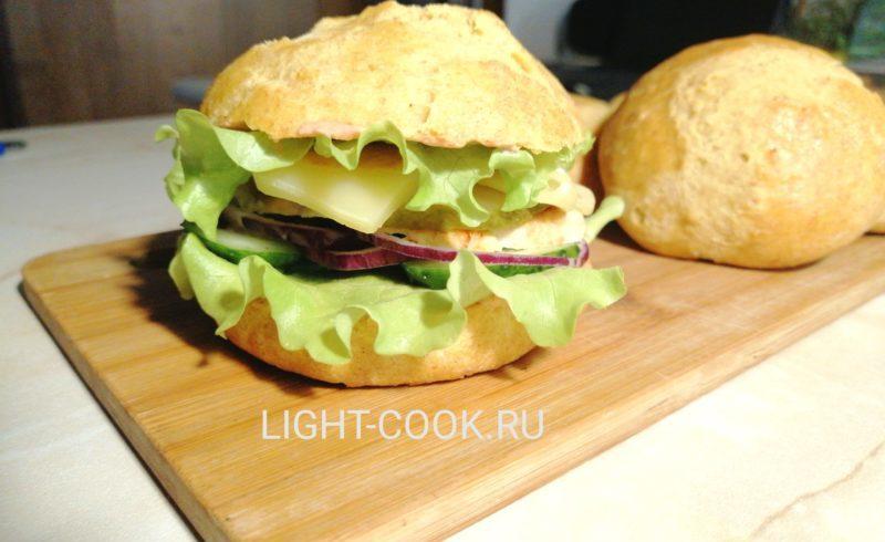 Пп бургер рецепт