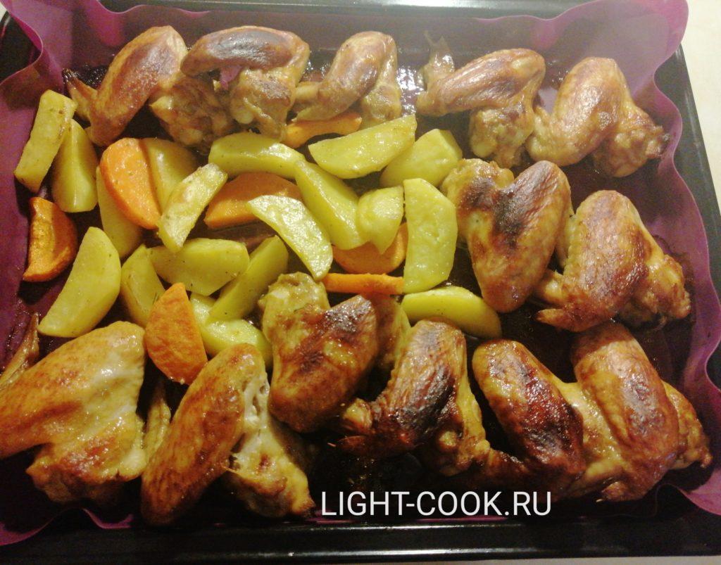 куриные крылья в духовке рецепт